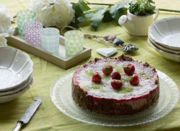 Bavarois végétalien et sans gluten aux fruits rouges (vegan)