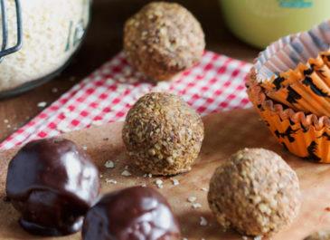 Pumpkin balls : petites douceurs sans sucre (vegan)
