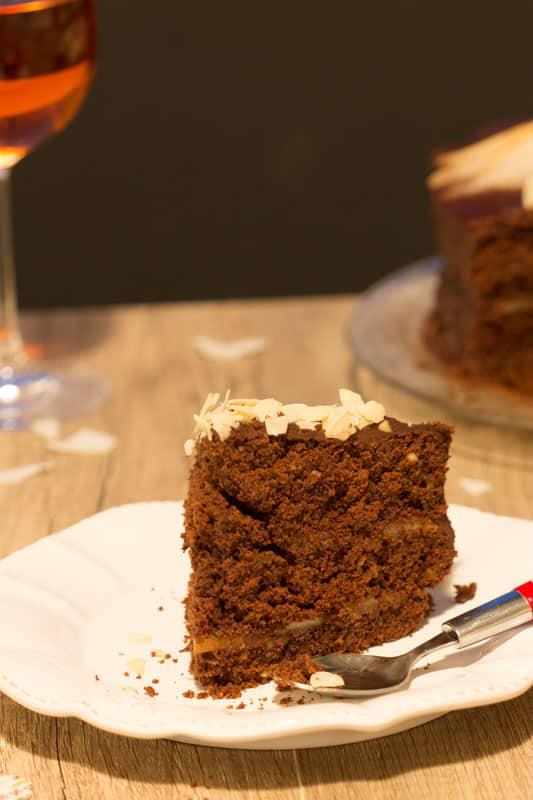 Layer cake sans gluten 2