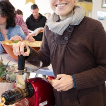 Alimentation vivante - stage Irène Grosjean novembre 2015