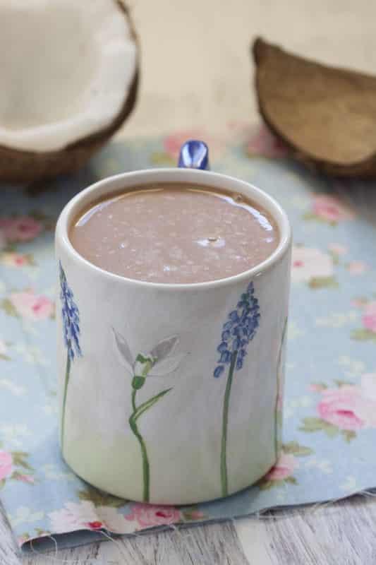 « Chocococo » {chocolat chaud à la noix de coco}