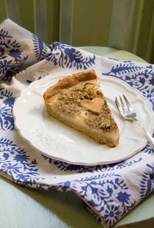 Tarte amandine aux poires sans gluten