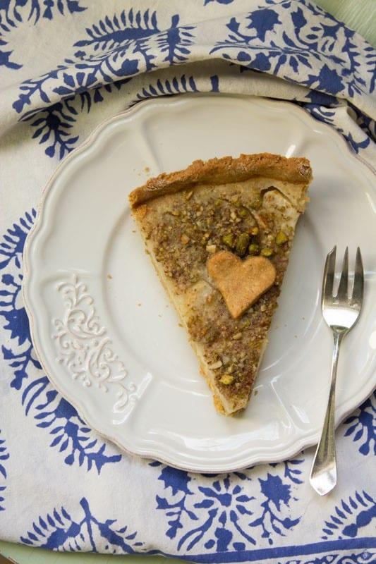 tarte amandine aux poires sans gluten 3