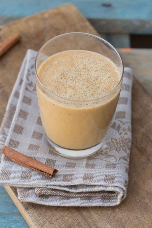 Lait de cajou épicé au potimarron façon Pumpkin Spice Latte