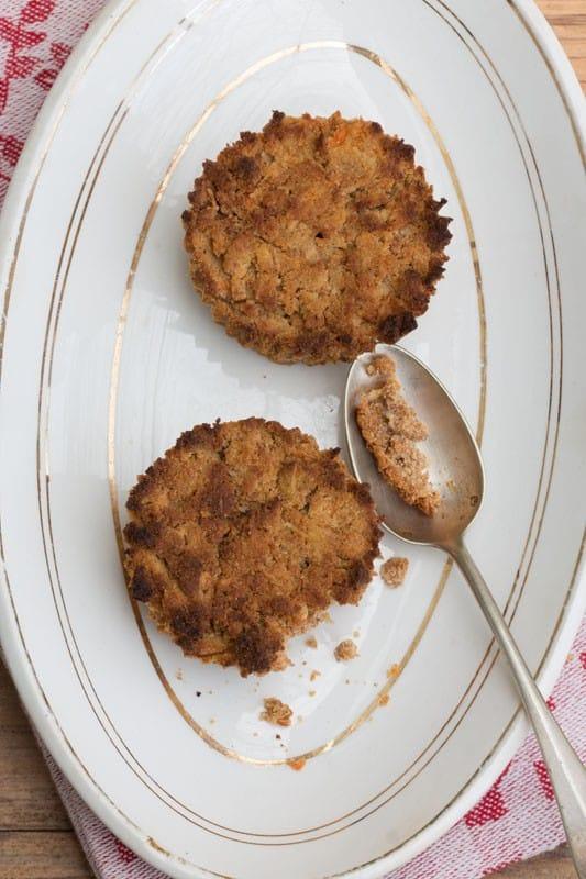 Petits muffins à la patate douce et à la noix de coco