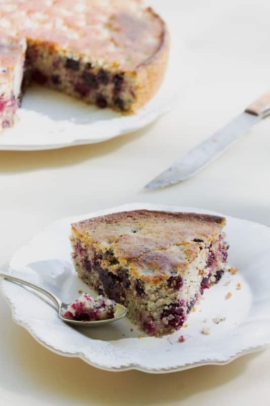 Gâteau aux mûres 4