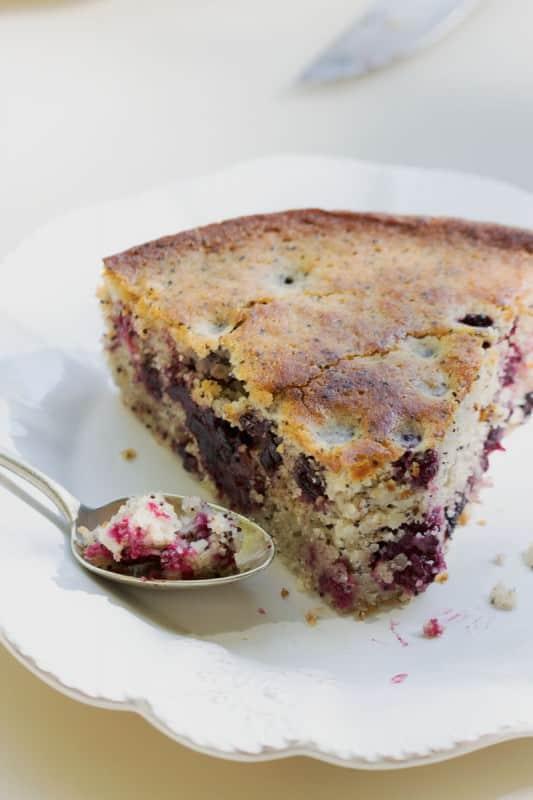 Gâteau aux mûres 5