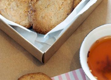 Biscuits sans gluten pour le thé (vegan)
