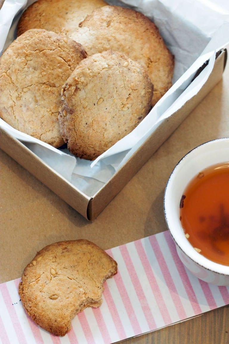 Biscuits sans gluten pour le thé