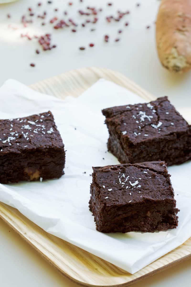 Brownie végétalien sans gluten