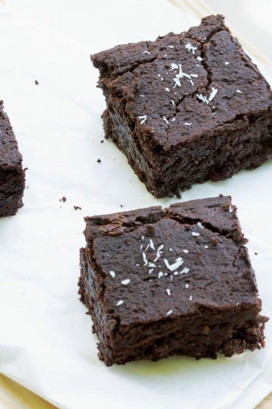 Brownie végétalien 3