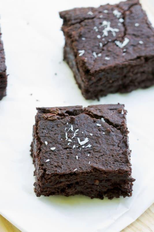 Brownie végétalien 4