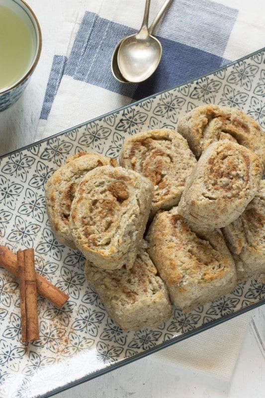 Cinnamon rolls vegan