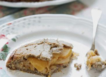 Galette aux pommes sans gluten façon «apple pie» (vegan)