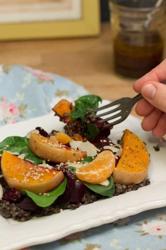 Salade au quinoa 2