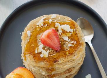 Pancakes vegan à l'aquafaba et lait de coco (vegan)