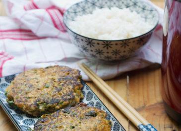 Galettes aux fibres de légumes (vegan)