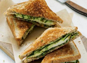 Croques-monsieur verde (vegan)
