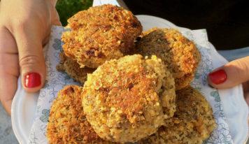 Galettes et boulettes végétariennes (vegan)