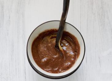Crème crue au chocolat express {à tartiner ou non} (vegan)