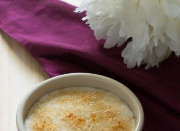 Crèmes brûlées sans œufs simplissimes (vegan)