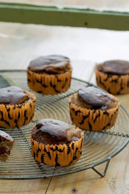 Muffins marbrés 4