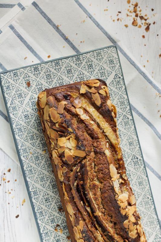 Gâteau à la banane et noisette 4