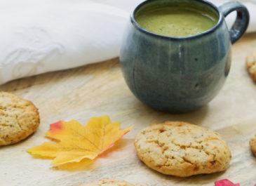 Cookies au citron et graines de chia sans gluten (vegan)