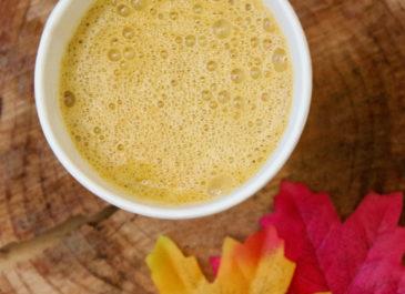 Latte aux épices automnal… sans lait ! (vegan)