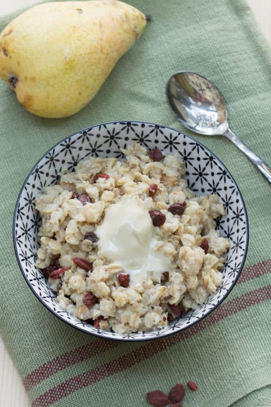 Porridge sans lait 2