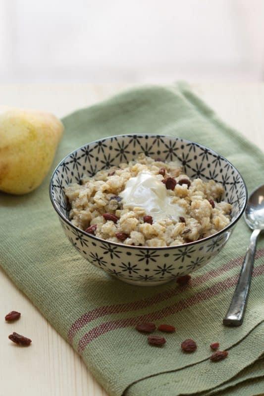 Porridge sans lait