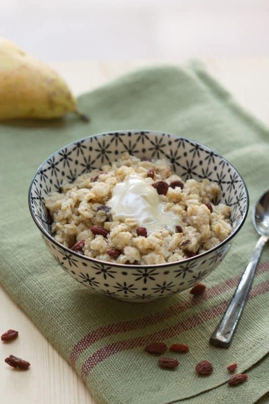 Porridge sans lait 3