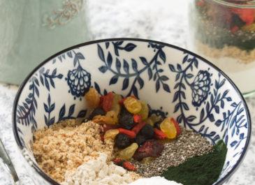 Petit-déjeuner bien-être nomade (vegan)