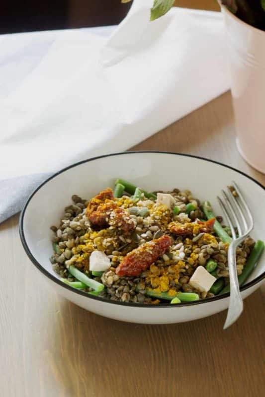 semaine de menus vegan