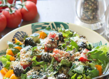 Salade de lentilles estivale (vegan)