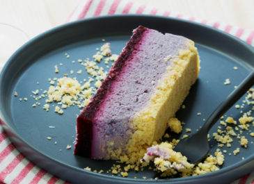 Cheesecake vegan sans gluten aux fruits rouges (vegan)