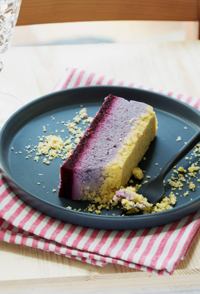 Cheesecake vegan sans gluten