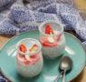 Pudding de chia aux fraises (vegan, sans gluten)