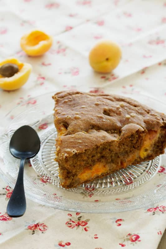 Moelleux sans gluten aux abricots