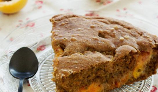 Moelleux sans gluten aux abricots (vegan, sans gluten)