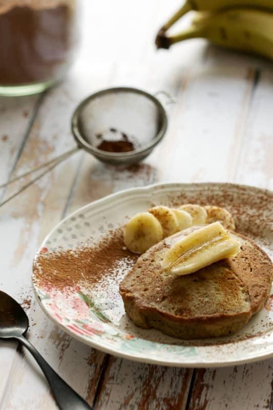 Pancakes moelleux à la banane