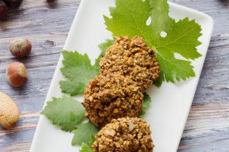 Crottins d'amandes chauds ou froids (vegan, sans gluten)