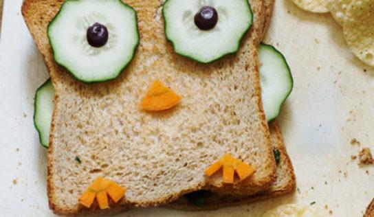 Croque-monsieur hibou aux épinards (vegan, sans gluten)