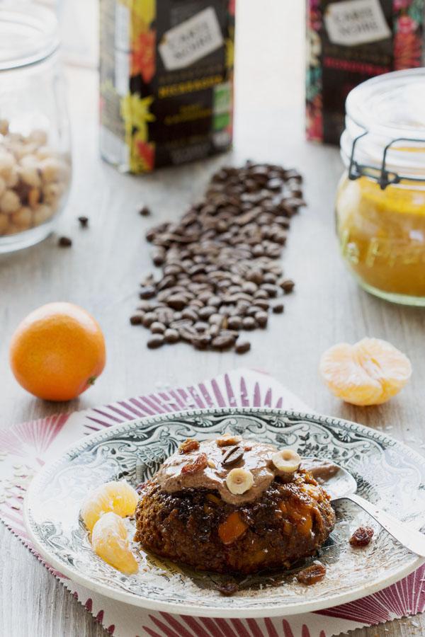 Bowl-cake au potimarron et au café
