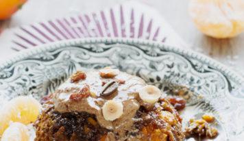 Bowl cake au potimarron et au café (vegan, sans gluten)