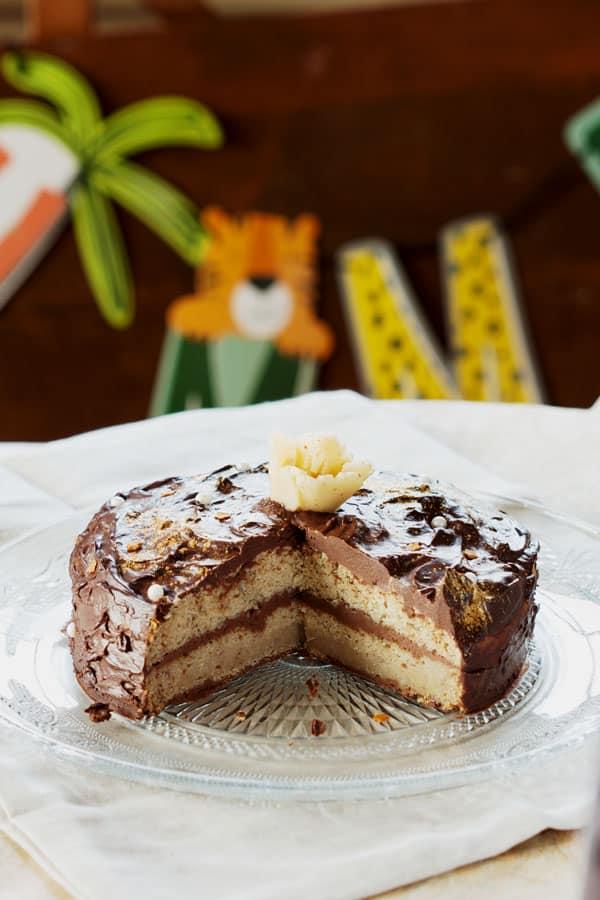 Smash cake vegan et sans gluten