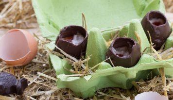 Oeufs de Pâques maison façon «Creame eggs» (vegan, sans gluten)