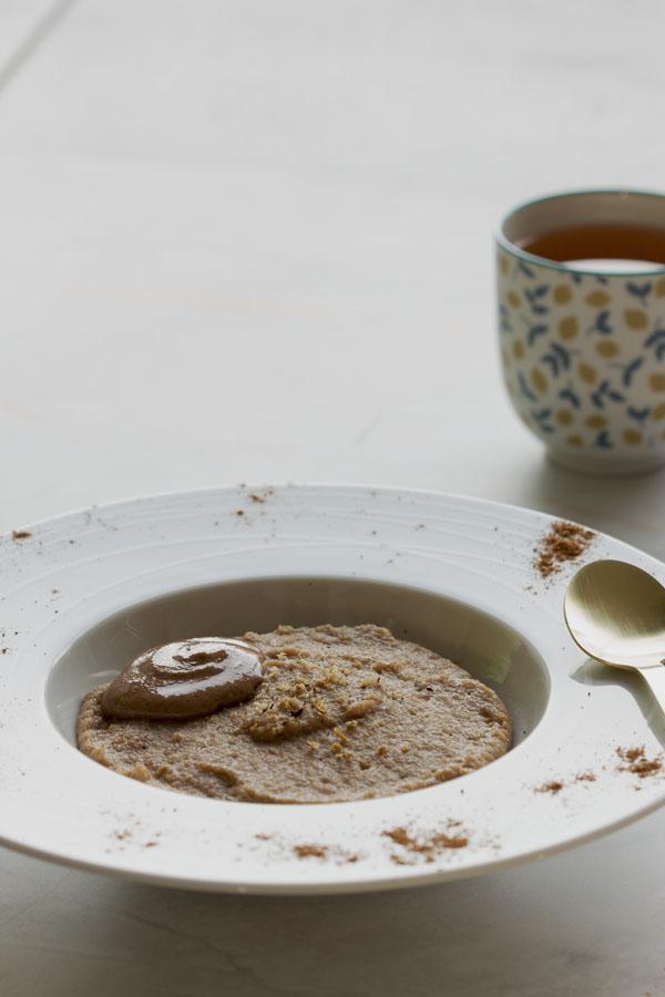 Porridge de fonio