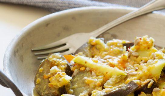 Curry de légumes avec… ou sans curry ! (vegan, sans gluten)