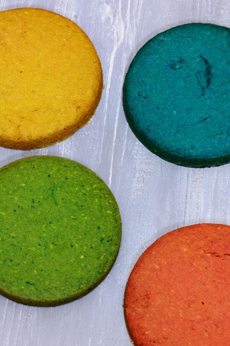Rainbow cake vegan et sans gluten